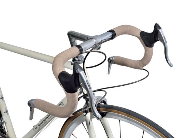 【MHL エムエイチエル】 自転車ハンドルバーテープ おしゃれ お洒落 メンズ ロードバイク クロモリ ピスト レトロ調 布感触 再生素材