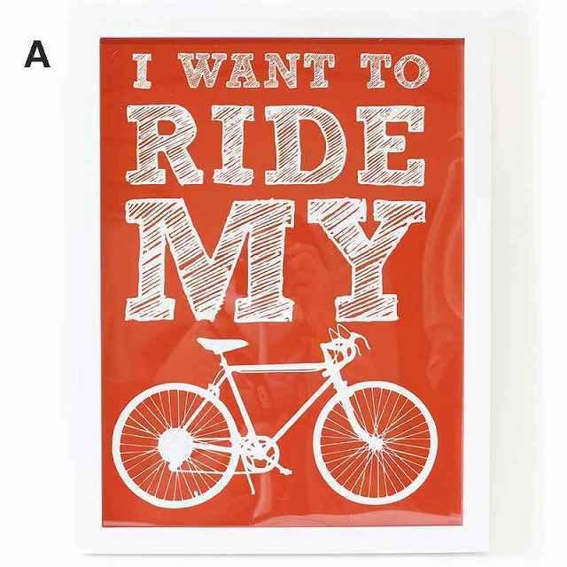 自転車 パネル 自転車 ロードバイク アートパネル ポスター 北欧 アートポスター アートフレーム 自転車雑貨 インテリア