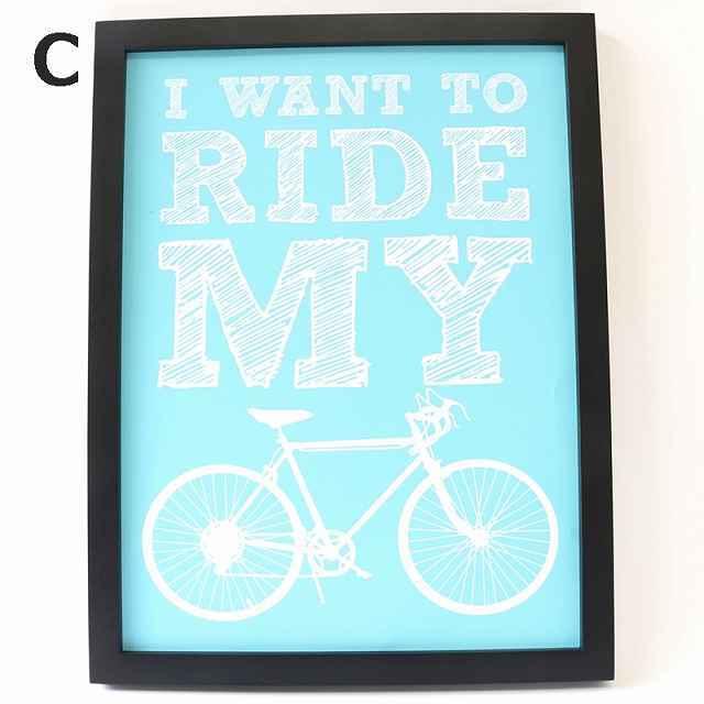 自転車 パネル 自転車 ロードバイク アートパネル ポスター 北欧
