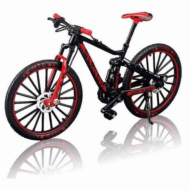 自転車 おもちゃ MTB マウンテンバイク 模型 ダイキャスト 1/10  バイシクル 自転車模型