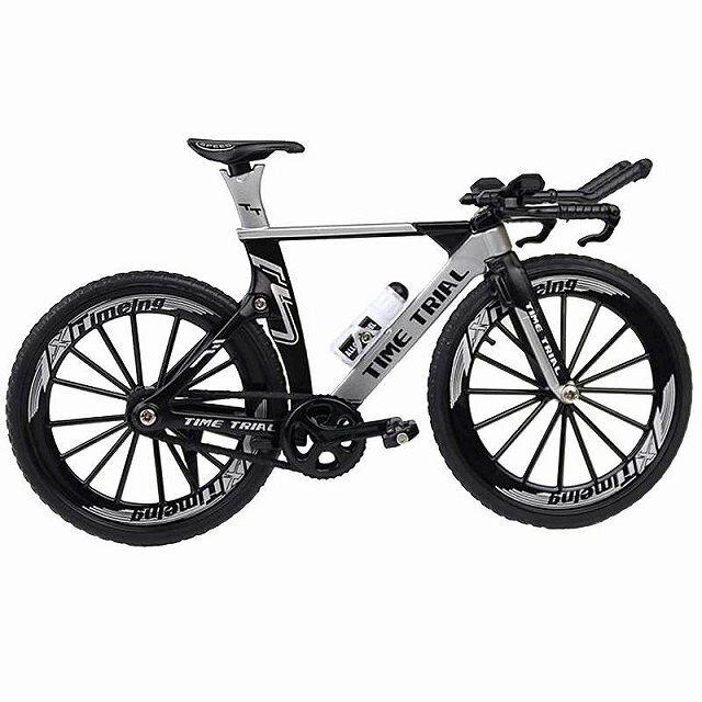 自転車 おもちゃ 自転車競技 タイムトライアル バイク 模型 ダイキャスト 自転車模型 TTバイク