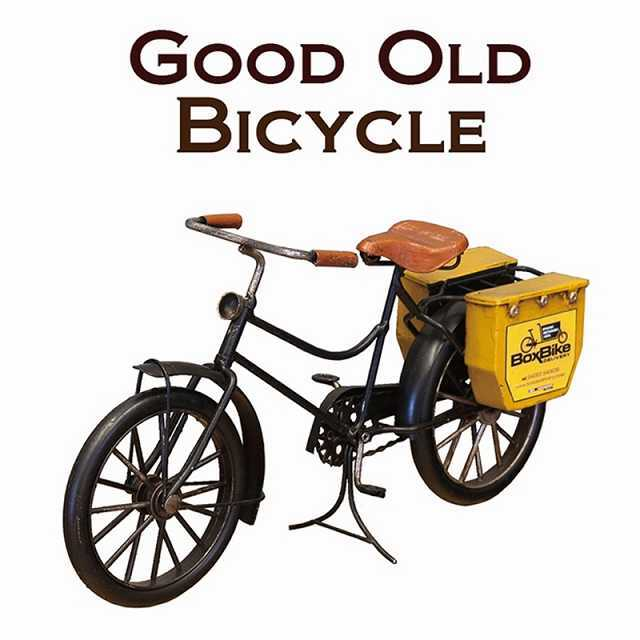 ミニチュア 自転車 自転車モチーフ ミニチュア 雑貨 自転車ミニチュア ノスタルジックデコ バイシクル デリバリー グッドオールド