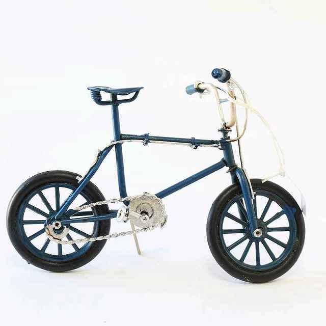 ノスタルジックデコ BMX bmx 自転車 ミニチュア バイシクル ブリキカー ガレージ 自転車モチーフ 模型 コレクション フィギュア