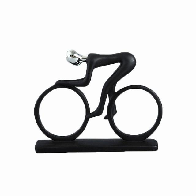 自転車 置物 自転車模型 トライアスロン スポーツ 自転車モチーフ インテリア オブジェ