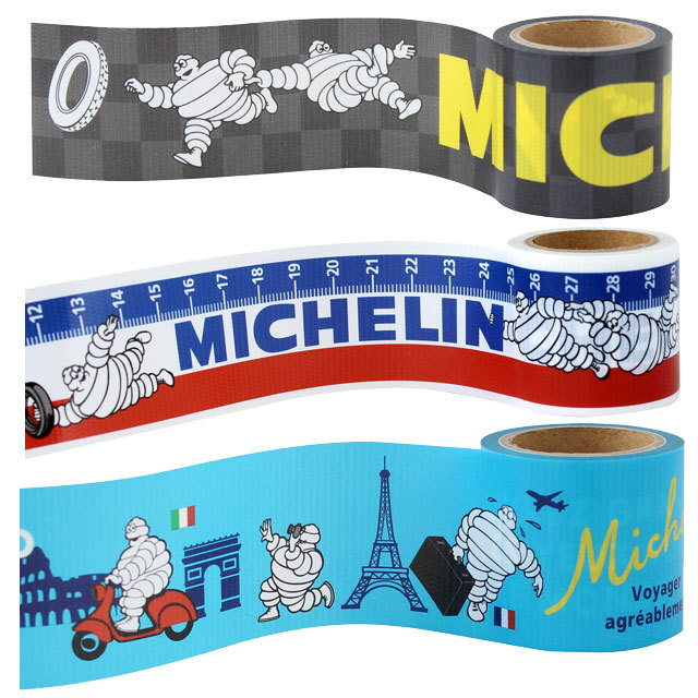 YOJO TAPE MICHELIN Logo ミシュラン ロゴ デザイン養生テープ 自転車 自転車柄 通販 お洒落 かわいい