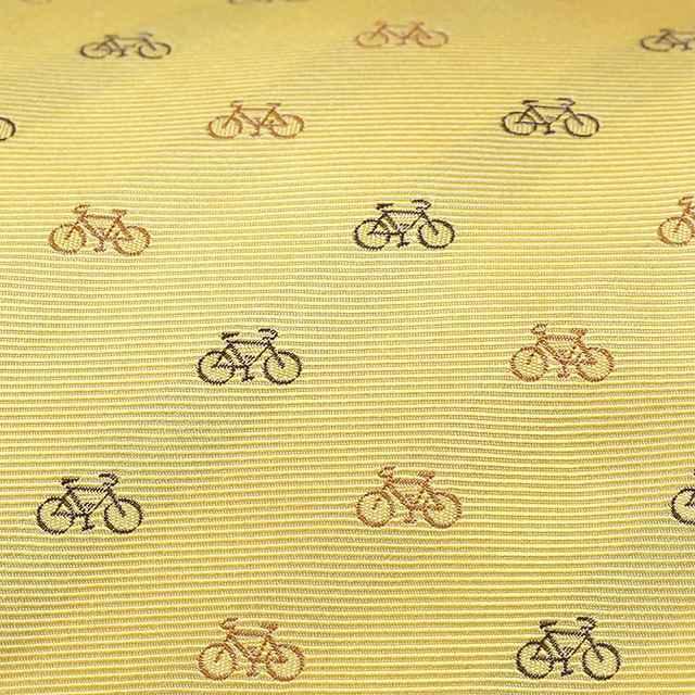 自転車ネクタイ 日本製 京都 西陣織 自転車柄モチーフ 自転車 ネクタイ 自転車好き クリスマス プレゼント ギフト