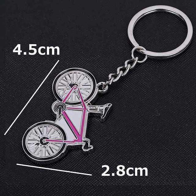 キーホルダー おしゃれ/キーホルダー メンズ/自転車 ロードバイク 自転車モチーフ