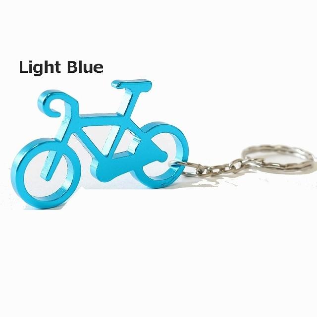 ボトルオープナー 栓抜き 自転車 サイクリング ツーリング キーホルダー カラビナ キーホルダー 自転車柄 雑貨 自転車 ギフト 自転車好き