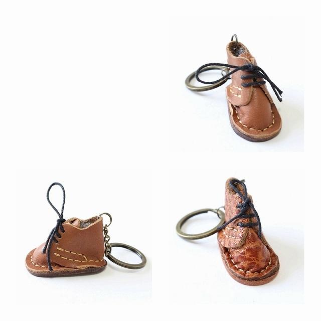 本革レザーチャームストラップ アクセサリー おしゃれでかわいい 靴のチャーム くつ チャーム バックチャーム