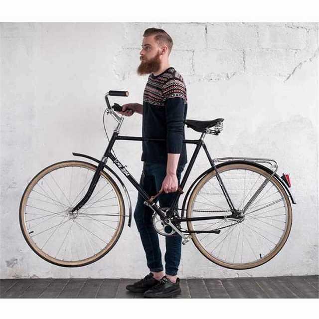 自転車フレームハンドル レザー自転車フレームベルト バイクリトルリフター バイクベルト 本革 自転車 ハンド キャリー ベルト 便利