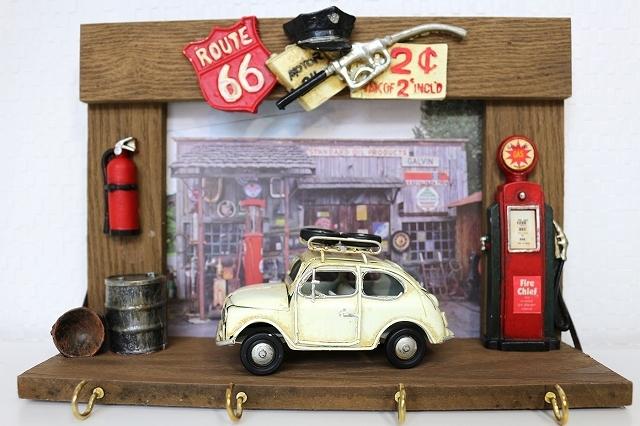 ウォールフック キーフック 小物 壁掛け 1連 玄関 お洒落 インテリア かわいい 自転車モチーフ 雑貨 ビンテージ看板  プレゼント