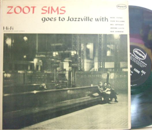 【米Dawn mono】Zoot Sims/Goes To Jazzville
