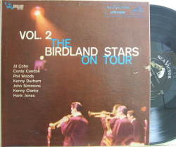【米RCA mono】Al Cohn, Kenny Dorham, Phil Woods, Hank Jones, etc/Birdland Stars on Tour vol.2