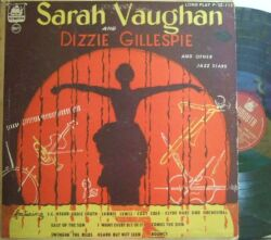 【米Plymouth mono】Sarah Vaughan/and Dizzie Gillespie and other Jazz Stars