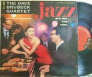 【米Columbia mono】Dave Brubeck/Jazz: Red Hot and Cool