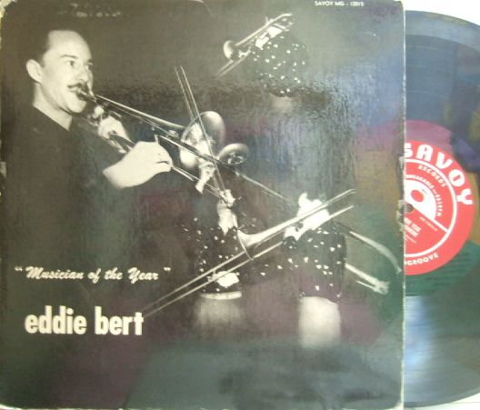 【米Savoy mono】Eddie Bert/Musician of The Year (Hank Jones, Wendell Marshall, etc)