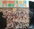 【米Atlantic mono】Woody Herman's Big New Herd/At The Monterey Jazz Festival (Zoot Sims, Richie Kamuca, Conte Candoli, etc)