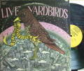 【米Epic】The Yardbirds/Live Yardbirds! (featuring Jimmy Page)