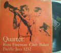 【米World Pacific mono】Russ Freeman & Chet Baker/Quartet