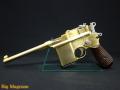 モーゼルM712 ノーマル刻印 金属モデルガン 木製グリップ付き