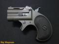 Xカート ミニミニデリンジャー ブラックHW 6mmBB 鉛メッキ弾頭