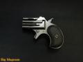 Xカート ミニミニデリンジャー WディープブラックABS 6mmBB 鉛メッキ弾頭