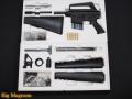 金属製モデルガン組立キット M16A1
