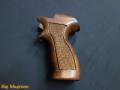 マテバリボルバー用 ブナ製木製グリップ