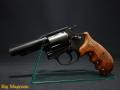 &W M36 3インチ メガヘビーウェイト オーバーサイズ ウッディグリップ No.492