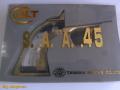 SAA用 真鍮バックストラップ&トリガーセット