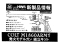 M1860ARMY 発火モデルガン組立キット