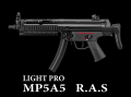 電動ガンLIGHT PRO MP5 RAS