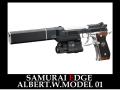サムライエッジ アルバート.W.モデル01 バイオハザード7モデル 完全限定品