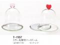 【30%オフ】LEO、T-1557 ミラー丸板付ハートドーム
