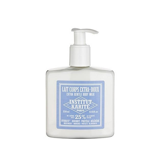 INSTITUT KARITE インスティテュート カリテ 25%Extra Gentle Body Milk(ボディミルク)250ml