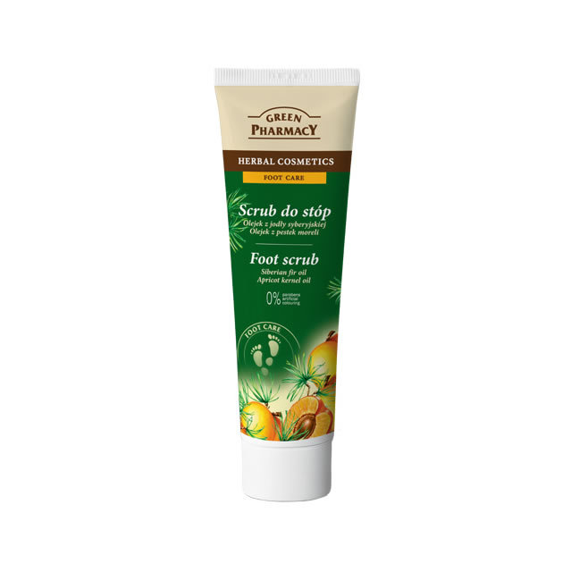 Elfa Pharm Green Pharmacy グリーンファーマシー Foot Scrub フットスクラブ Siberian Fir Oil