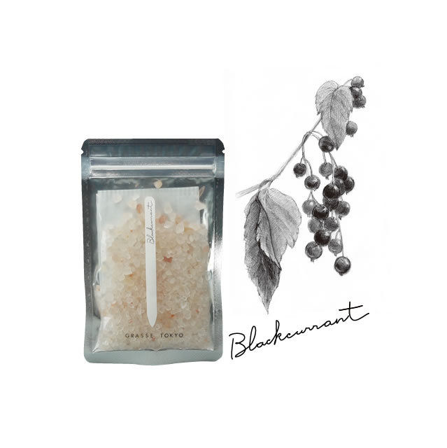 GRASSE TOKYO(グラーストウキョウ) Fragrance Salt  60g Blackcurrant(ブラックカラント)