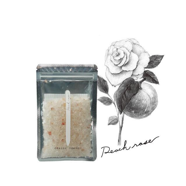 GRASSE TOKYO(グラーストウキョウ) Fragrance Salt 60g Peach rose (ピーチローズ)