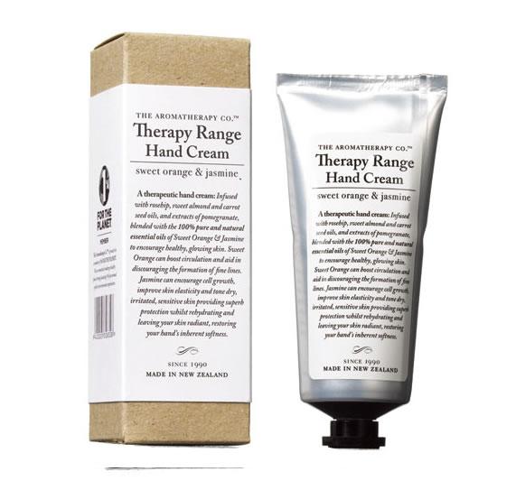 Therapy Range セラピーレンジ ナリシングハンドクリーム スイートオレンジ&ジャスミン
