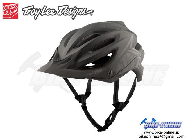 Troy Lee Designs トロイリーデザインズ [ A2  Helmet Mips 2021 ] DECOY - BLACK ハーフ ヘルメット 【GROVE青葉台】
