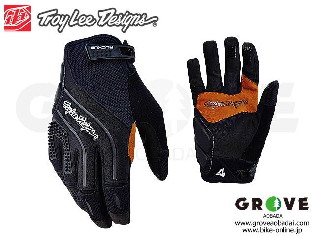 Troy Lee Designs [ RUCKUS Glove ] 2017/Black 【GROVE青葉台】
