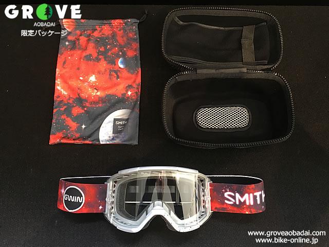 SMITH スミス [ Squad MTB Goggle ゴーグル ] Aaron Gwin AC - Clear Lens 【GROVE青葉台】 ※在庫限定