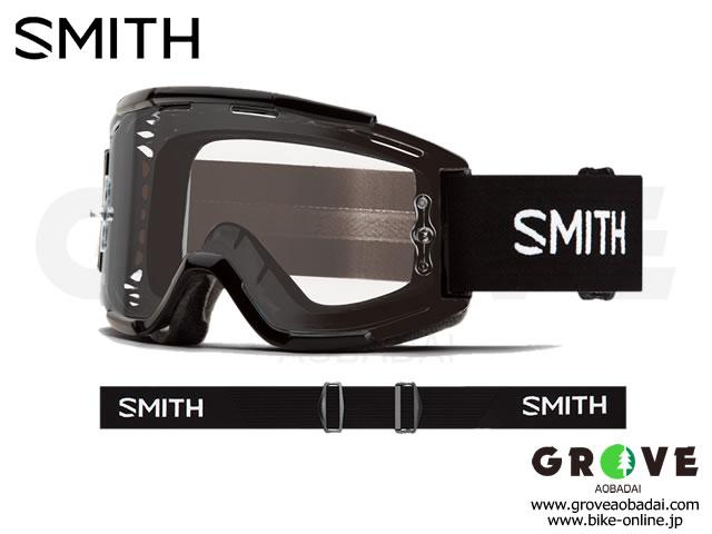 SMITH スミス [ Squad MTB Goggle ゴーグル ] Black - Clear 【GROVE青葉台】