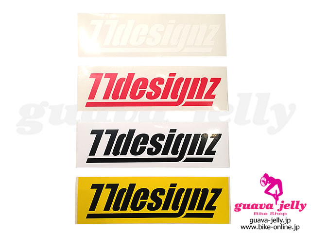 77 designz [ LOGO Sticker ] ステッカー 【GROVE青葉台】