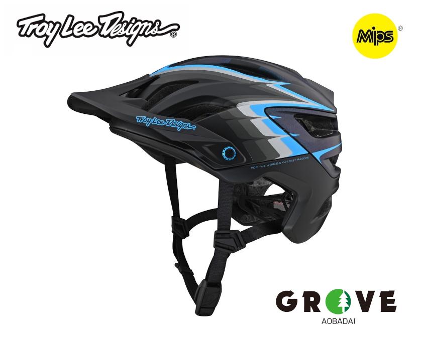 TroyLeeDesigns トロイリーデザインズ [ A3 Helmet Mips 2021 ] SIDEWAY BLACK MD/LG [ GROVE青葉台 ]