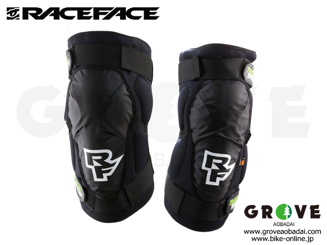 RACE FACE レースフェイス  [ AMBUSH KNEE GUARD ] 耐衝撃 ニー ガード D3O プロテクター 【GROVE青葉台】