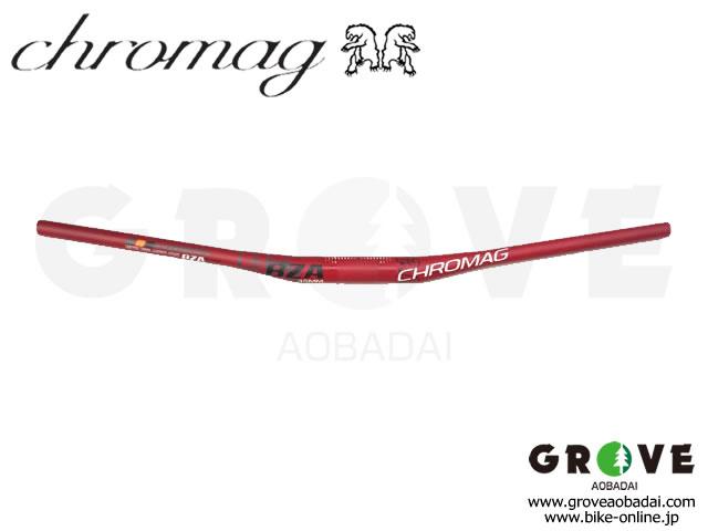 CHROMAG クロマグ [ BZA Carbon Handle Bar 2013-14 ] φ35mm  カーボン・ハンドルバー/ Matt RED 【GROVE青葉台】 ※ 在庫限定特価