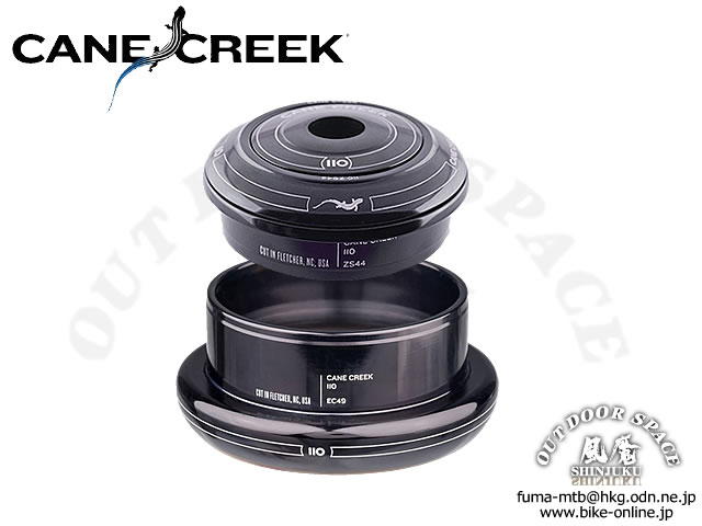 CANE CREEK ケーンクリーク [ 110 ZS44 Short / EC49 上下セット ] 1.5Tテーパードコラム用 ヘッドセット 【GROVE青葉台】