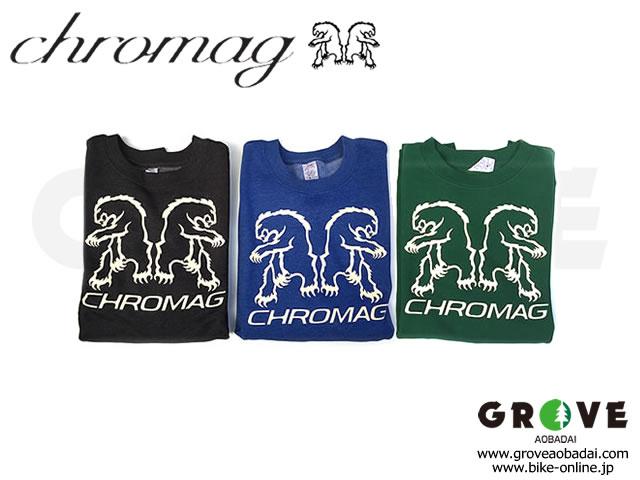 CHROMAG クロマグ [ BEAR REFLECT SWEAT ] トレーナー 【GROVE青葉台】 ※在庫限定特価