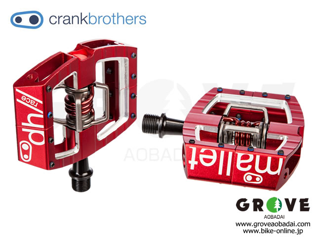 crankbrothers [ Mallet DH Race ] 2017 / Red 【GROVE青葉台】
